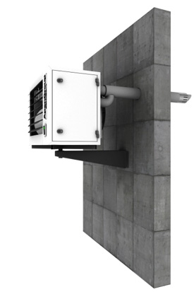 Plynový kondenzační ohřívač vzduchu 2