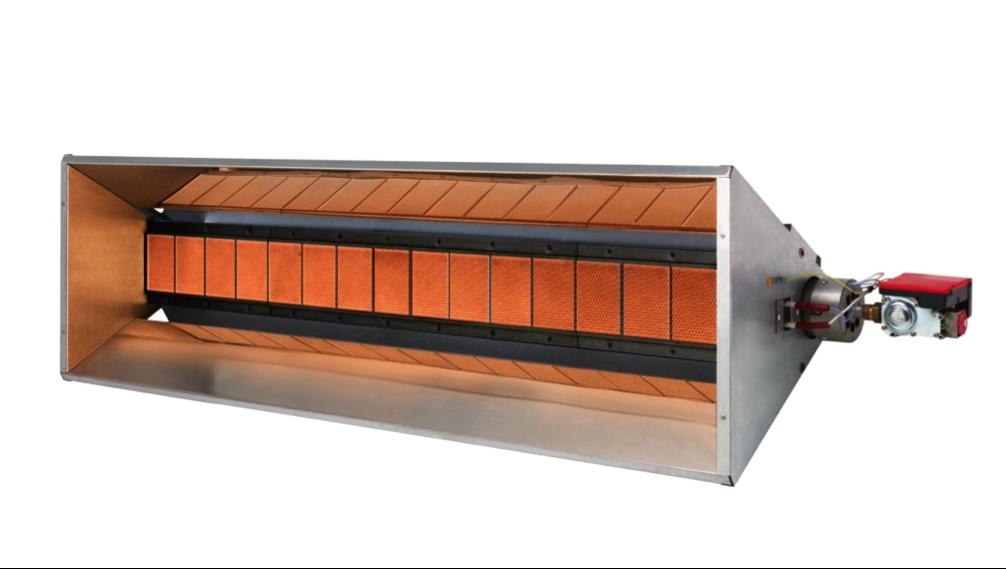 Světlý keramický infrazářič Inframax NEON PLUS-4heat