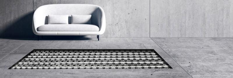 Podlahové a stěnové vytápění